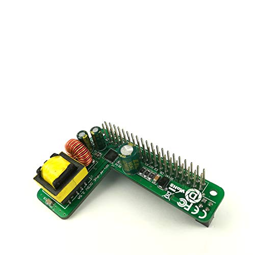 DSLRKIT Raspberry Pi 3B+ 3B Plus Power Over Ethernet PoE HAT IEEE802.3af DC 5V 2.5A with 1.5KV Isolation,MEHRWEG