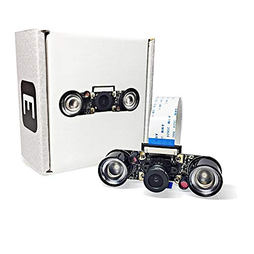 Electreeks® Raspberry Pi Kamera Modul Full HD mit Infrarot LEDs