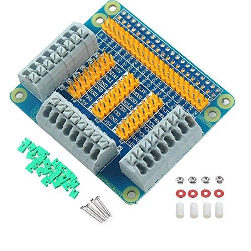 MakerHawk Raspberry Pi Multifunktionale GPIO-Erweiterungskarte für Raspberry Pi 2 3 B B + mit Schrauben